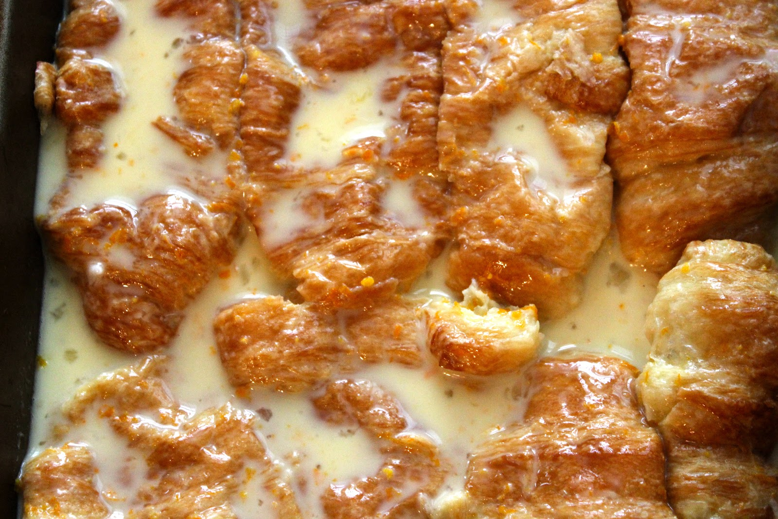 Croissant French Toast Recipe — Dishmaps