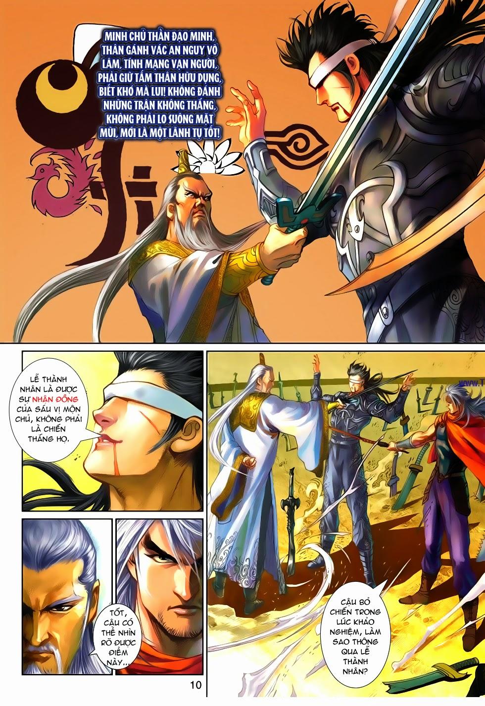 Thần Binh Tiền Truyện 4 - Huyền Thiên Tà Đế chap 9 - Trang 10