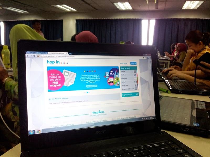 Bengkel Penyediaan Bahan VLE Guru Cemerlang 2014 Peringkat Negeri Sarawak