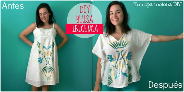 DIY BLUSA IBICENCA