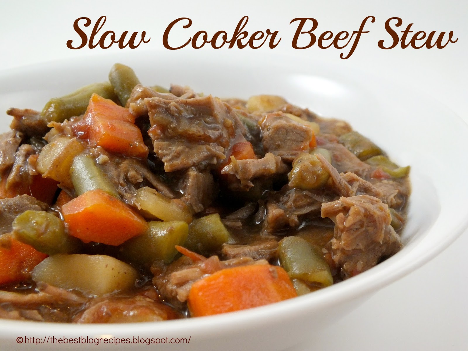 Slow Cooker Beef Stew: Inspiration Contributor {Shauna from The Best ...