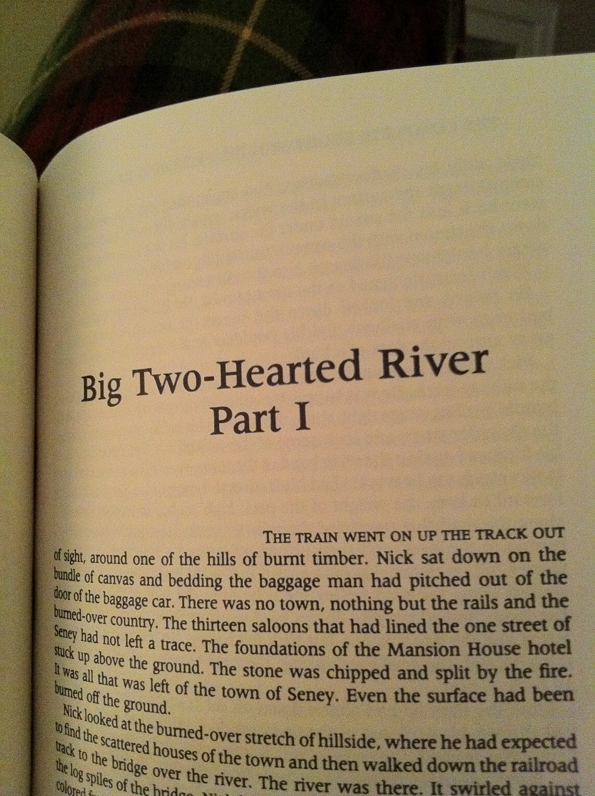 big two hearted river essay