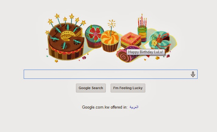 Even The Tiny Ones Like Replacing Search Engine Doodle With Sweet Birthday Wishes Thank You Google And Happy To Me P