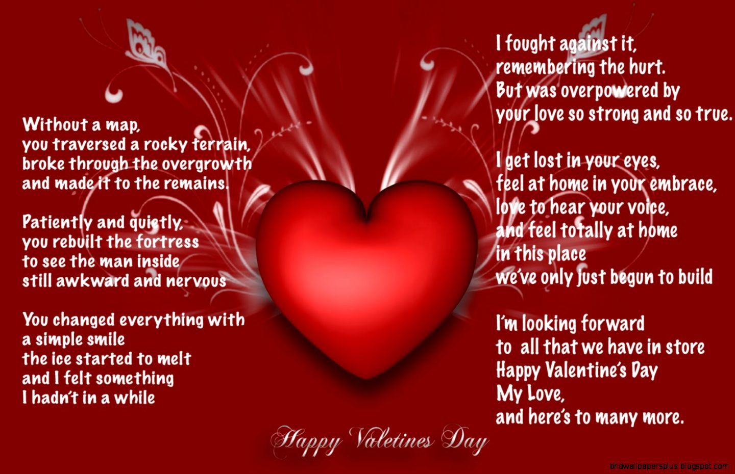 valentine day quotes for her hd wallpapers plus
