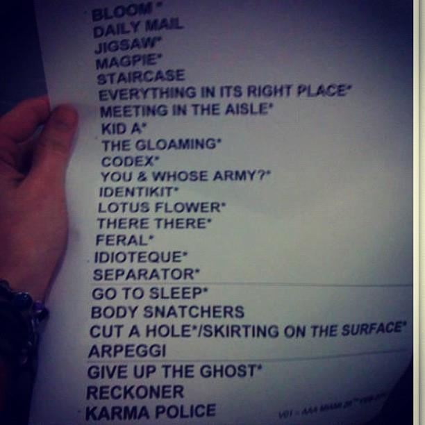 Radiohead lotus flower mp3uss ex machina deuss ex machina 358 coventry music radiohead miami setlist 02 27 2012 mightylinksfo