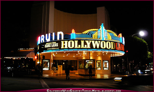 Top Attractions Los Angeles California Bruin Theatre Westwood CA Night 1