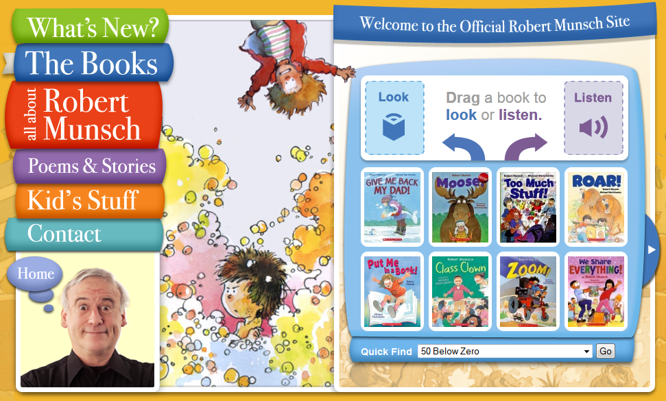 Clifford Interactive Storybooks Home