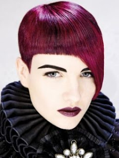 purple hair color trend for winter 2011