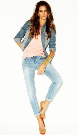 catálogo jeans mujer 2012 Blanco