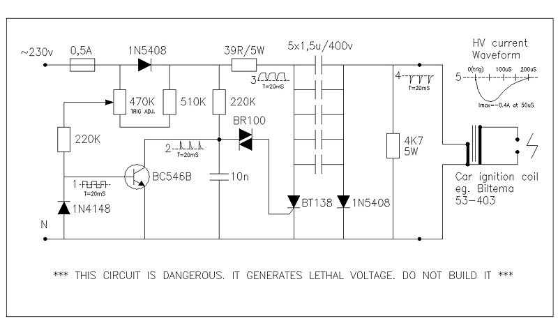 high voltage pulse generator electronic circuit all about electronics rh 4u electronics blogspot com
