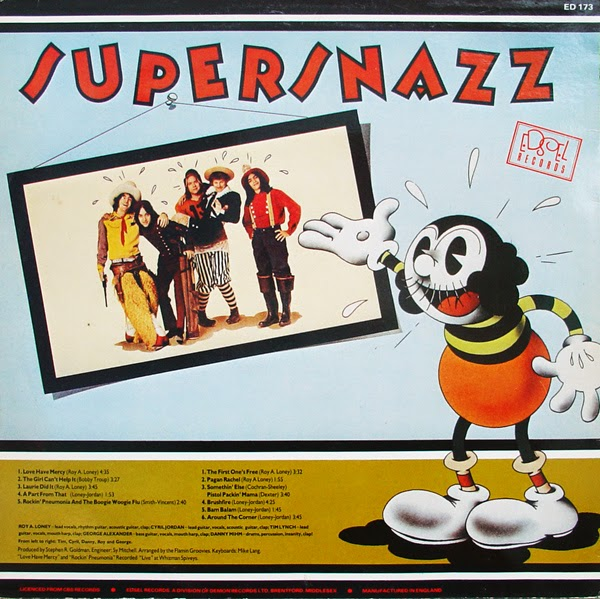"Flamin Groovies - ""Supersnazz"" (1969) b"
