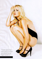 Malin Akerman hot high heels pose
