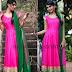 Pink Stunning Churidar By Bhargavi