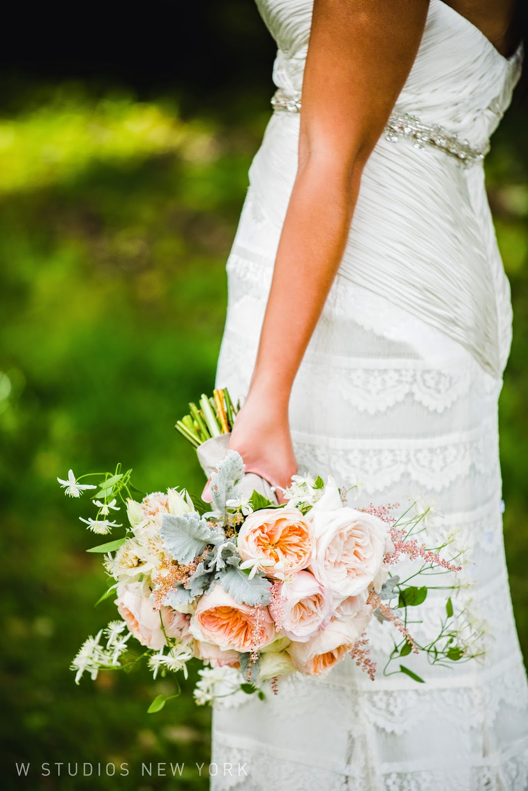 Highlands Club Wedding - Hudson Valley NY Weddings - Bridal Bouquets