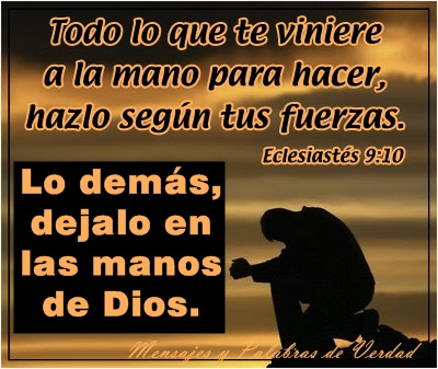 IMÁGENES CRISTIANAS, con mensajes de Dios. Para compartir en Facebook y otras redes sociales.