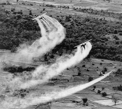 The U.S. Military Dumped 20 Million Gallons of Chemicals on Vietnam from 1962 – 1971