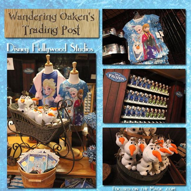 shopping for Frozen merchandise Disney Hollywood Studios