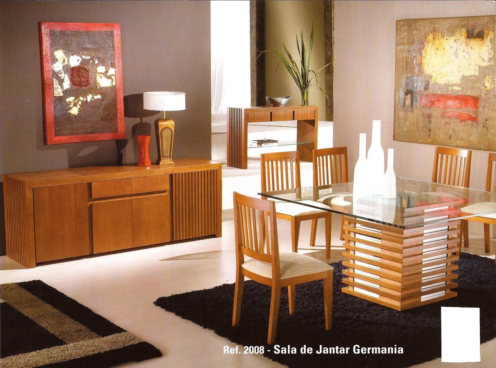 Ana montenegro m veis novos modelos salas de jantar for Modelos de modulares para sala