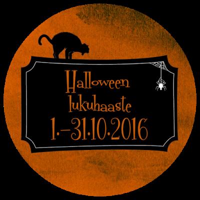 Halloween lukuhaaste