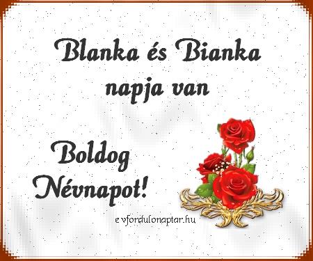 Október 25 - Blanka, Bianka névnap