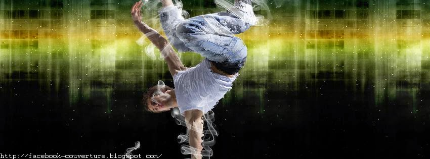 Couverture facebook original street dance