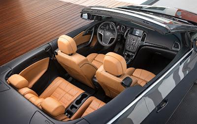 Opel Cascada sedili in pelle