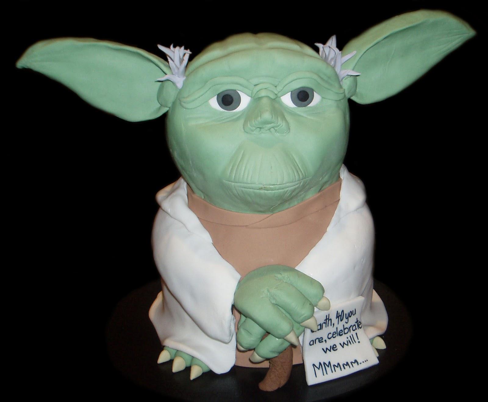 Nadas Cakes Star Wars Yoda Birthday Cake By Nadas Cakes Canberra