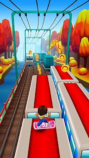 Mobile Android game Subway surfers World tour Seoul - screenshots. Gameplay Subway Surfers Seoul