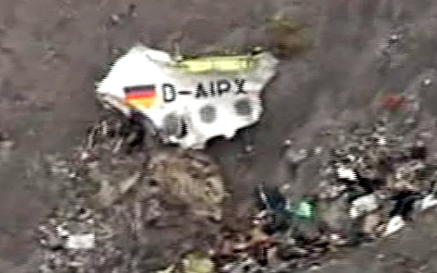 Flight 4U9525 remains