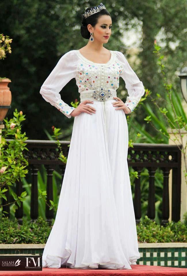 robe caftan mariage 2015