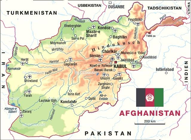 Carte de l'Asie Région Province