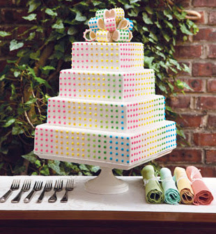 Candy Covered Cakes