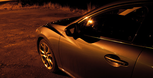 2014 Mazda 6 GT fender