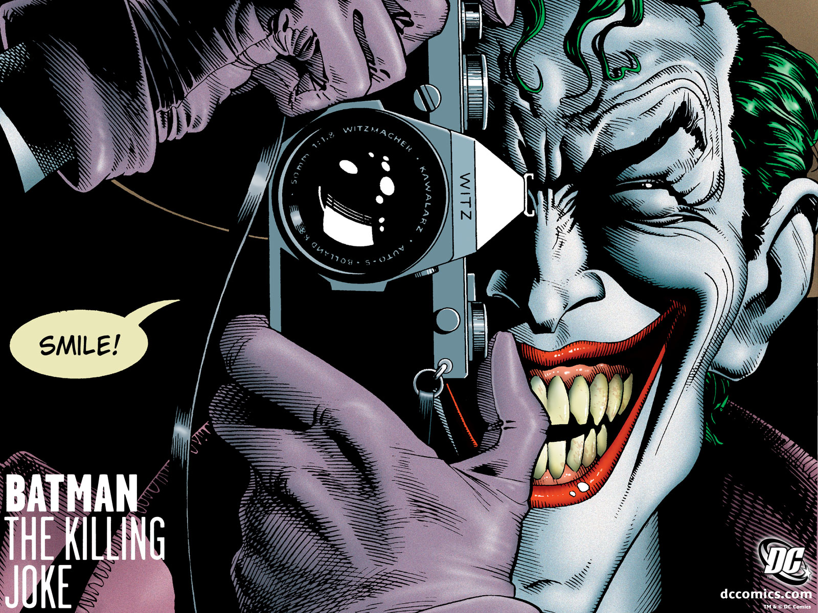 Batman The Killing Joke HD Comics Cover Wallpaper ~ Cartoon Wallpapers