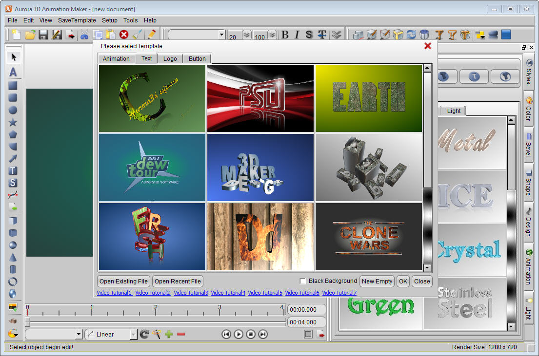 Title animation software free download full version