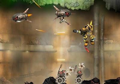 Mainkan Game Robo Rampage