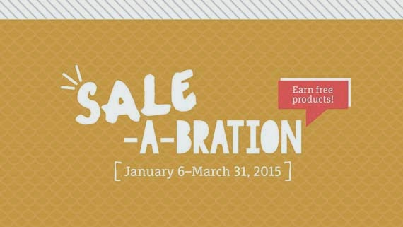 Sale-a-Bration! January 6 - March 31!