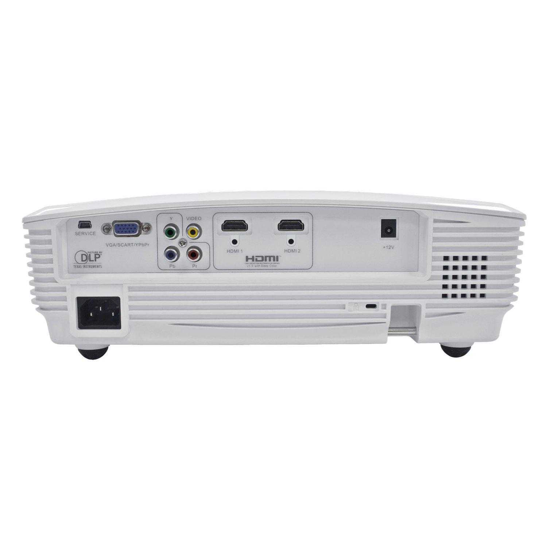 Mini wall best hd projector 1080p reviews optoma hd20 for 1080p mini projector reviews