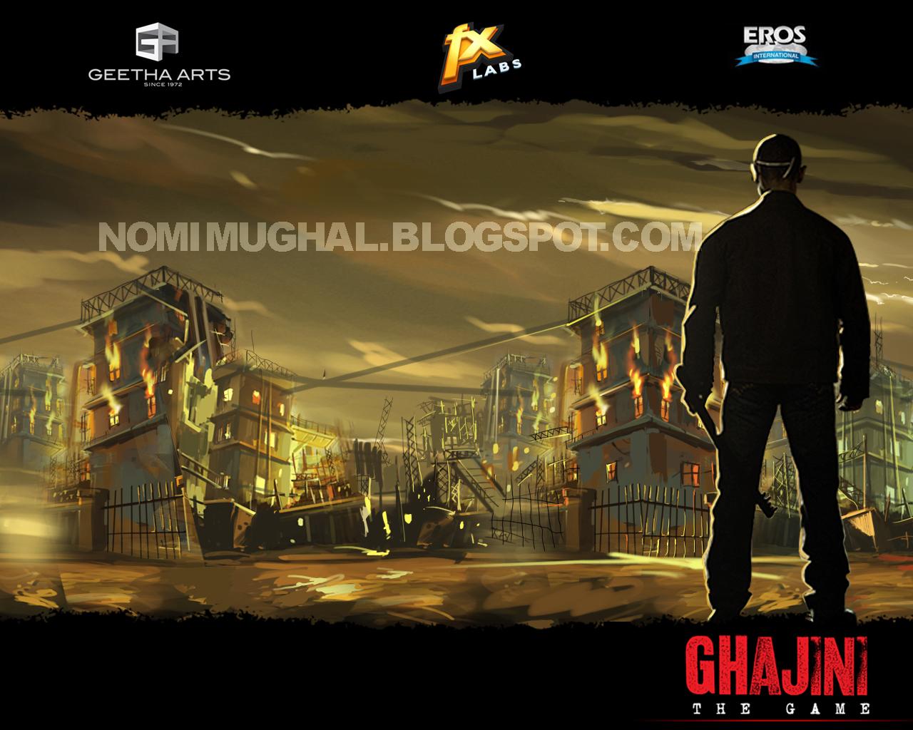 Ghajini game crack file download