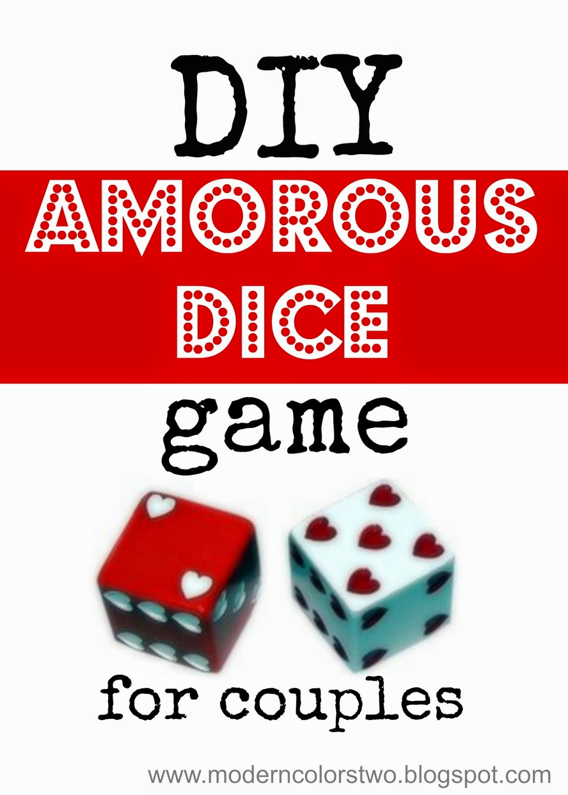 The dice game for couples