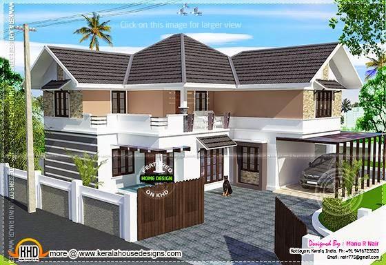 Renovation house model