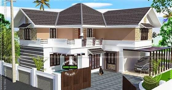 Very Beautiful European Model Home Keralahousedesigns