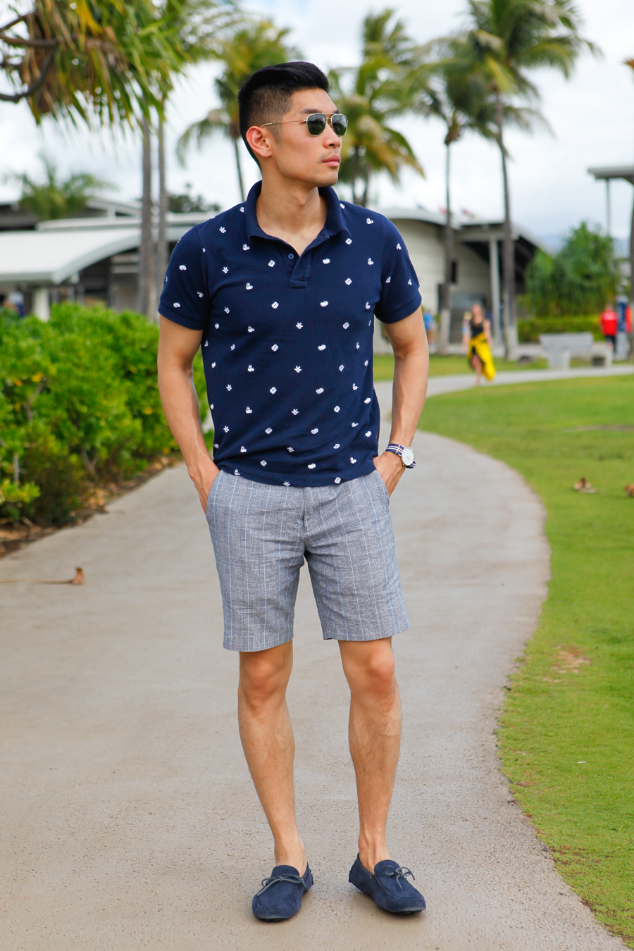 Levitate Style | Pearl Harbor, Hawaii - Classic Polo, Summer Shorts