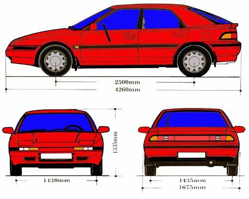 1989 Mazda 323 Astina 1 6 Dohc Related Infomation