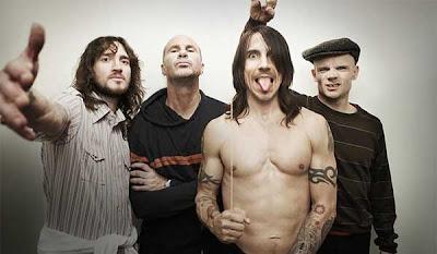 Banda de hard rock Red Hot Chili Peppers