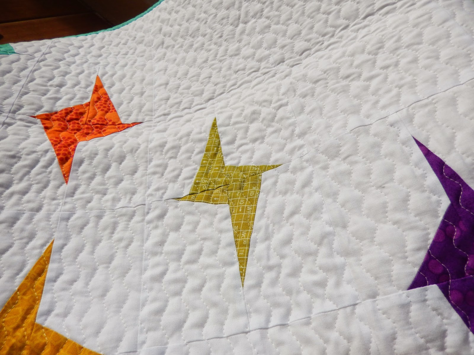 Cascading Stars by Afton Warrick @ Quilting Mod