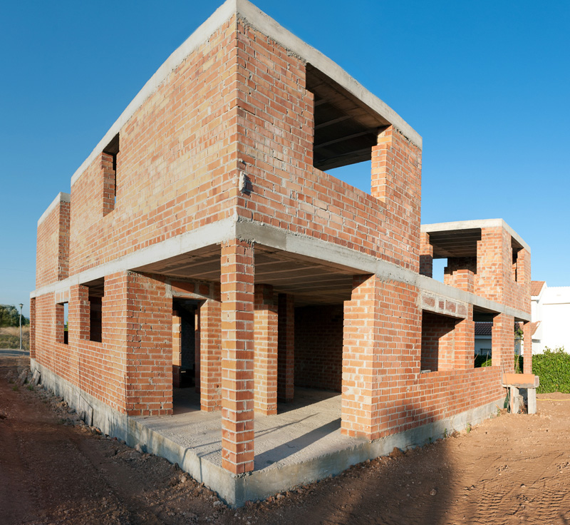 Wall Thickness House : House construction in india frame structure vs load
