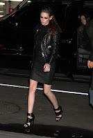 Kristen Stewart black outfit