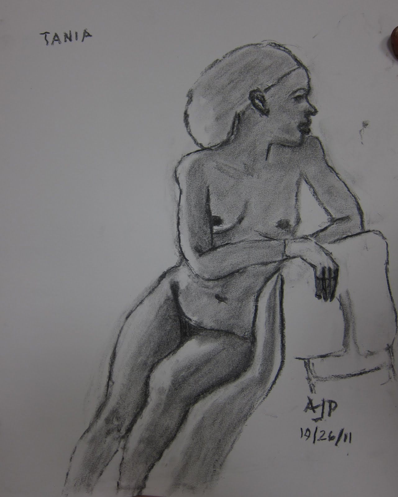 Nyack Center Figure Drawing we Had a Great Session With