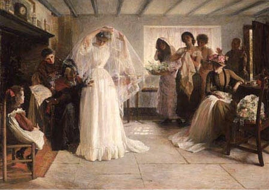 Свадебные портреты невесты 18c 20c
